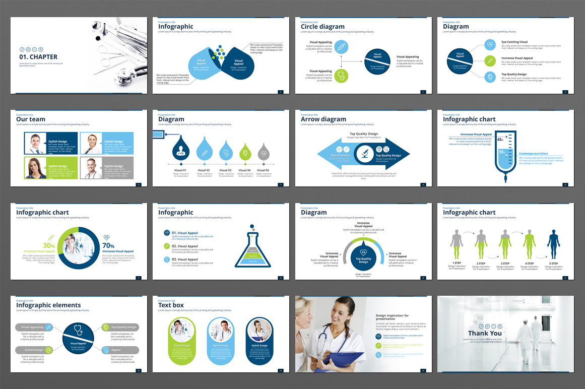 Medical PPT example image 2