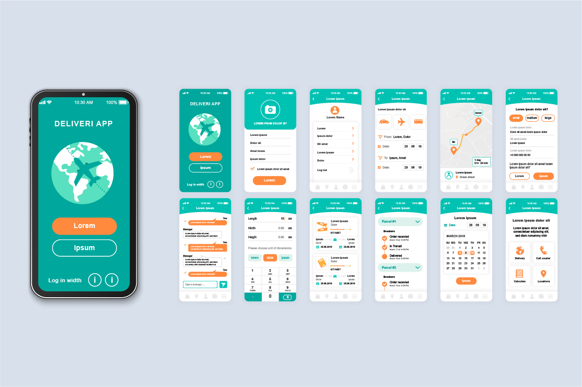 Bundle Mobile App UI Kit Screens example image 16