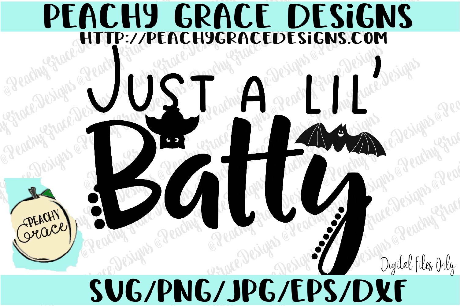 Just a Lil' Batty SVG example image 1