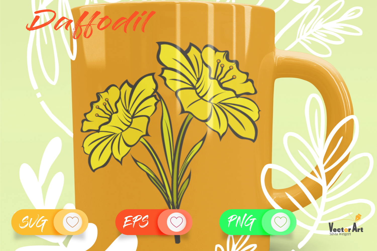 Spring Flower - Bundle - Cut Files with 2 Layers example image 7