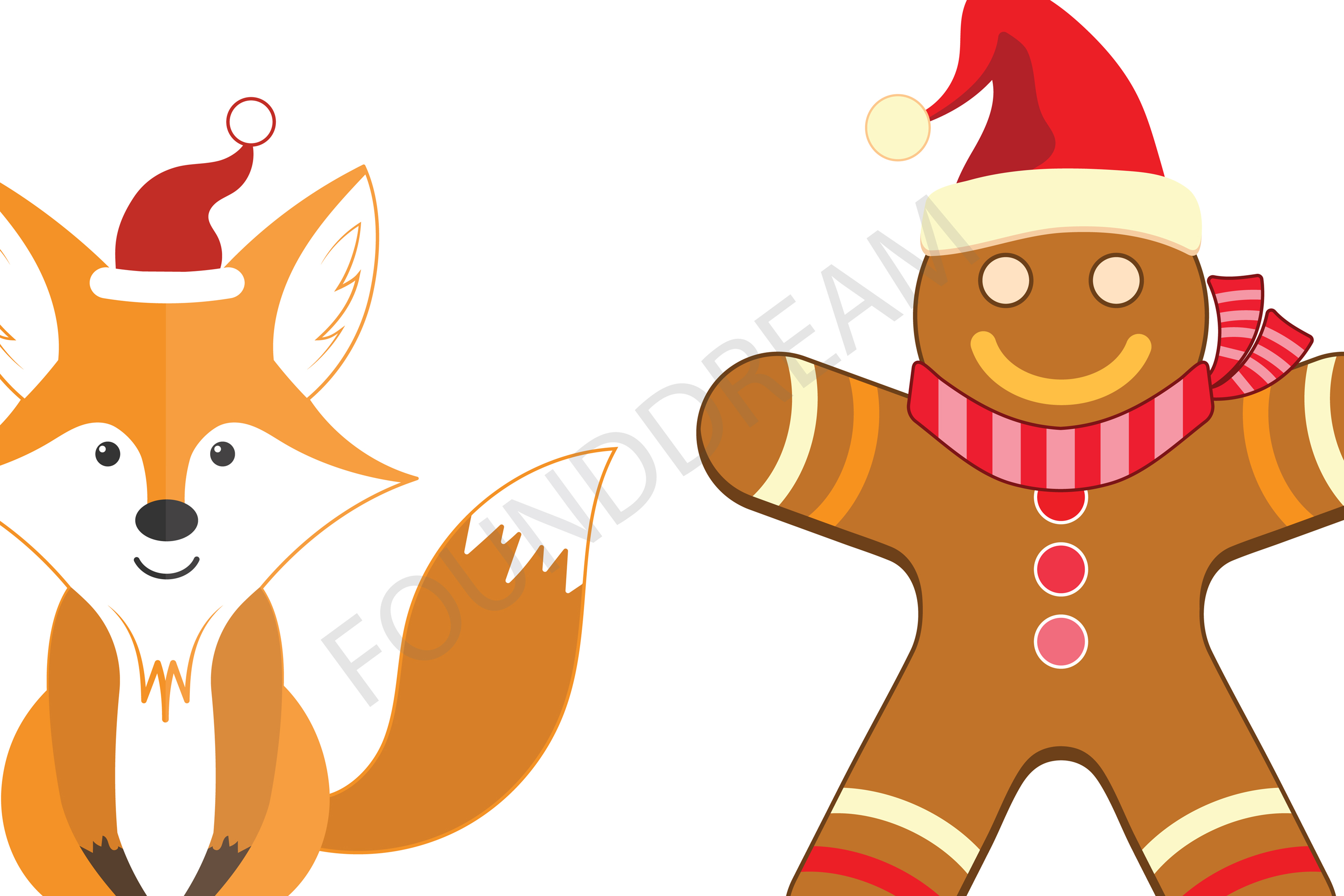 Christmas Gingerbread Clip art example image 4