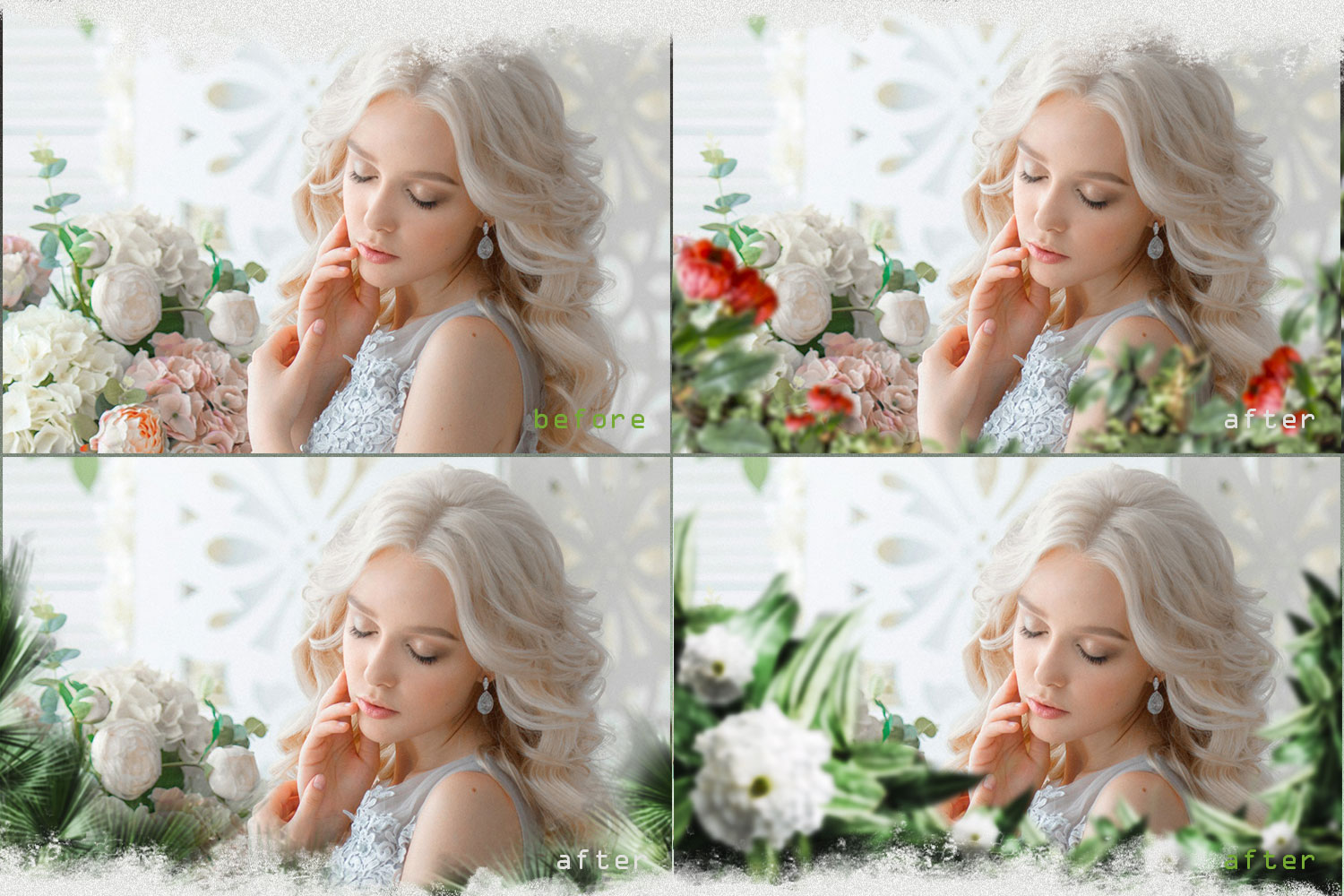 Summer overlays templates frames textures backdrop wedding example image 2
