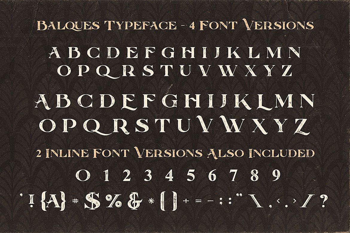 Balques Typeface example image 4