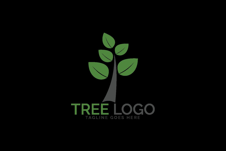Green tree logo design. example image 2