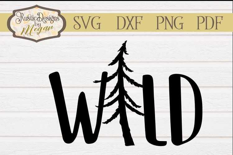 Woodland Wild Nursery SVG Cut file example image 1