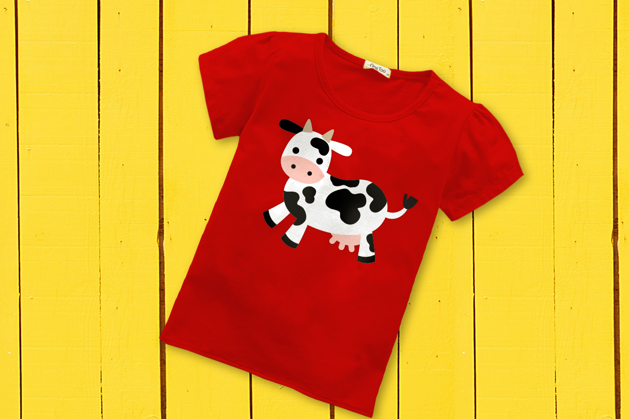 Farm Animal Party Banner SVG Design Bundle example image 2