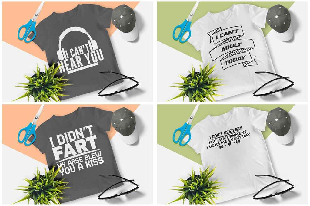 200 Printready Tshirt Design Mega Bundle example image 20