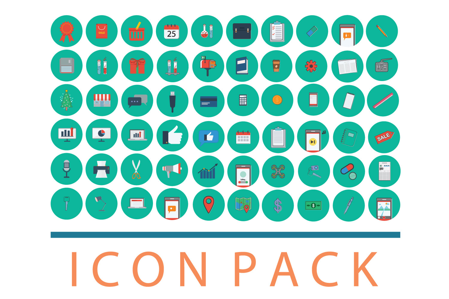 Media icon pack 60 example image 1