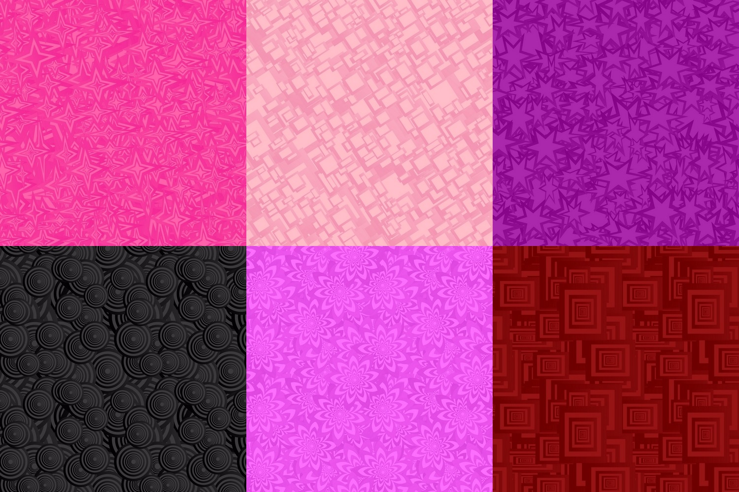 80 seamless pattern backgrounds - AI, EPS, JPG 5000x5000 example image 2