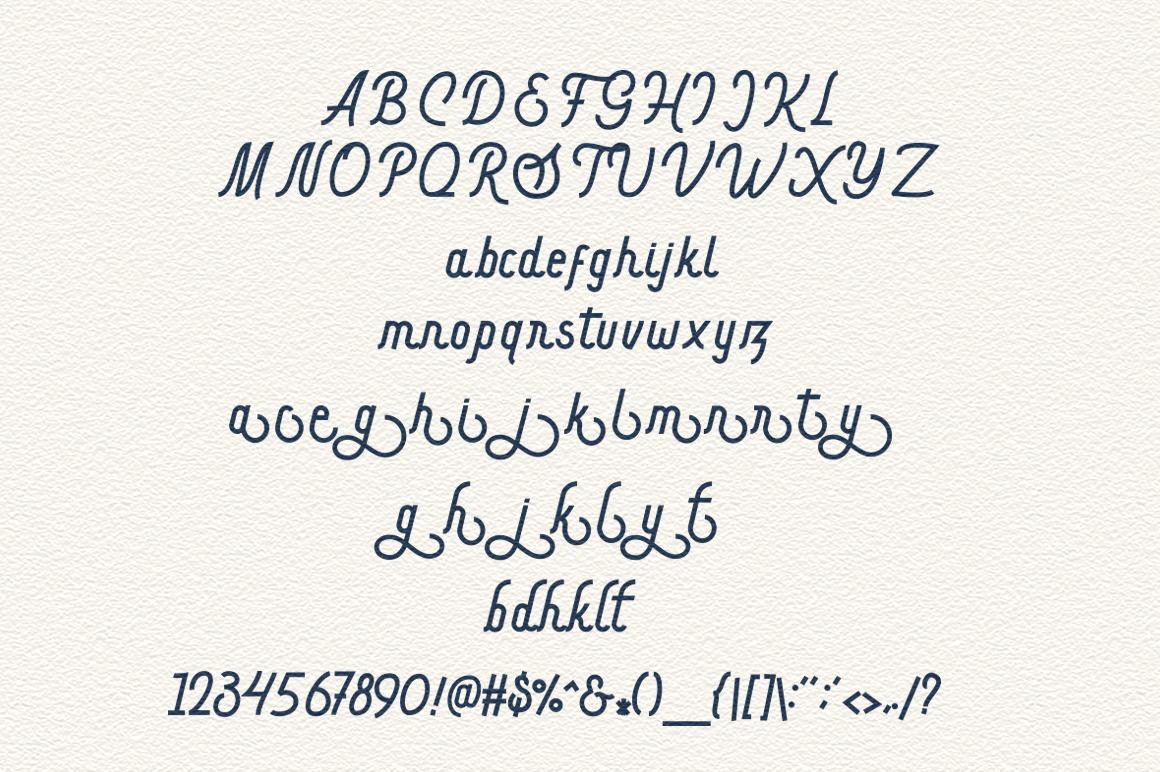 Hargael - Vintage Script Font example image 10