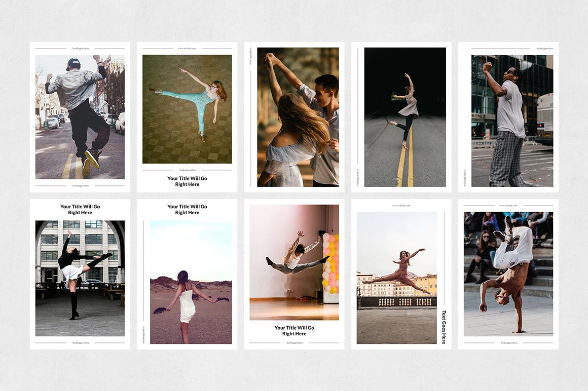 Dancing Pinterest Posts example image 8