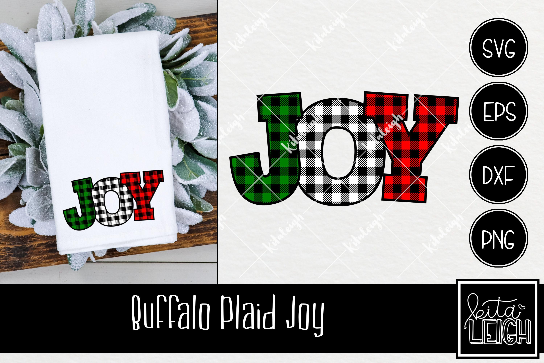 Buffalo Plaid Christmas Bundle SVG example image 10