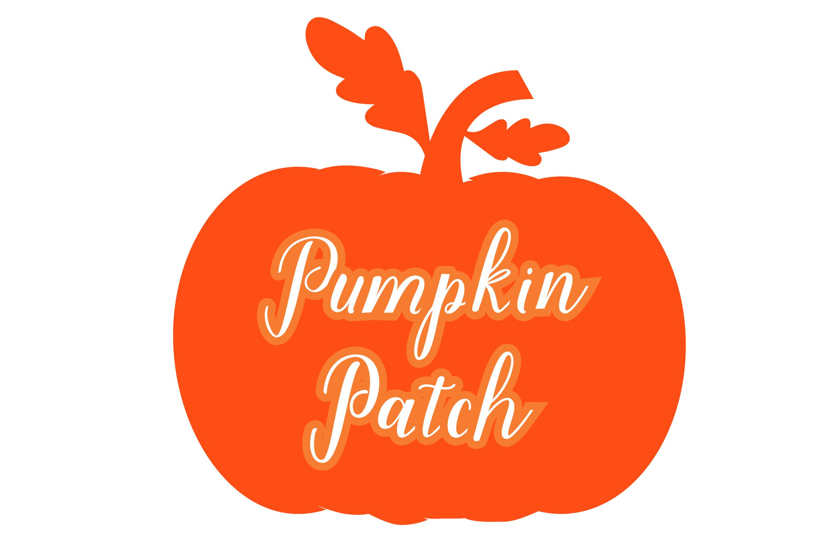 Pumpkin patch - Pumpkin Monogram 5 Designs SVG cut File example image 5