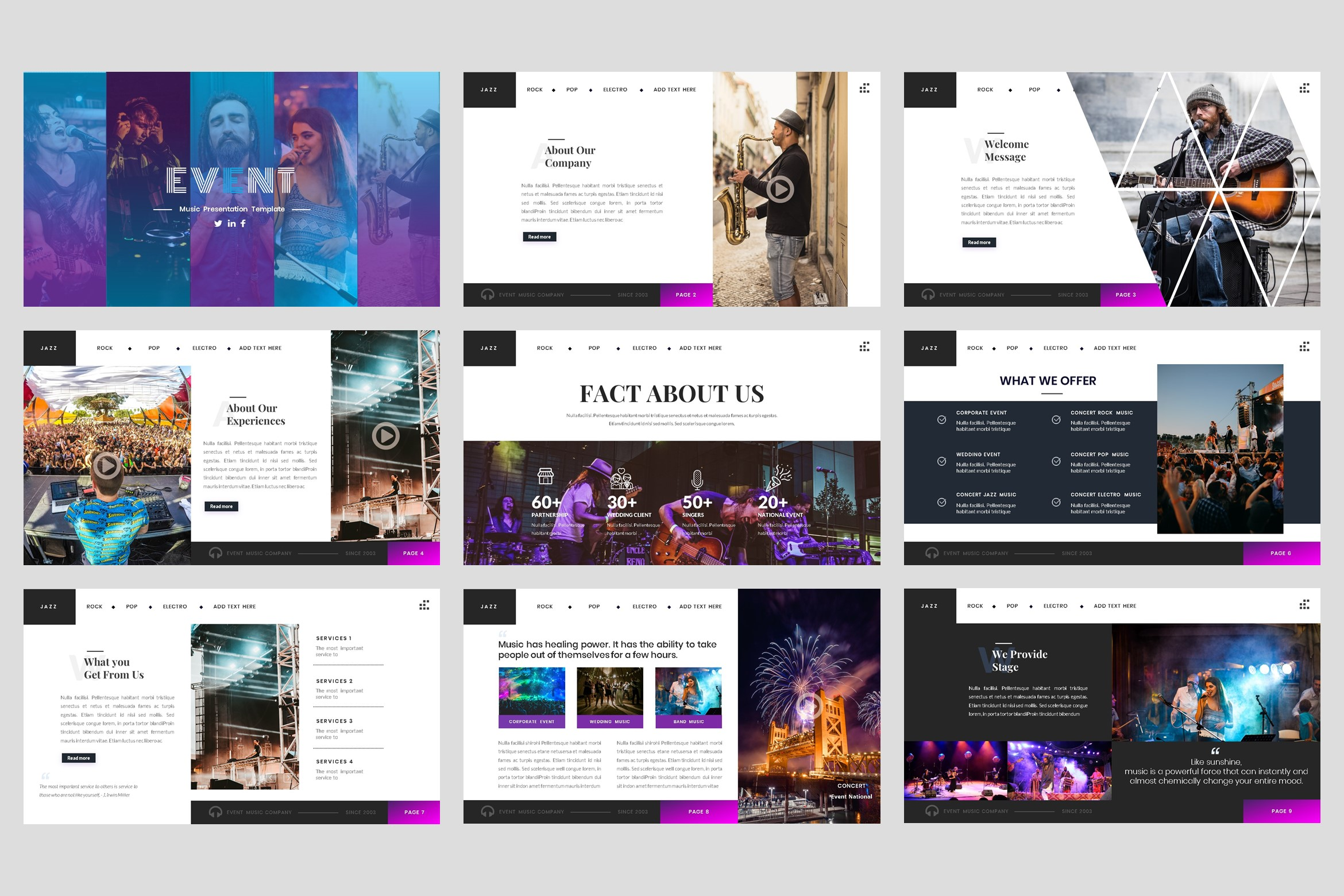 Event - Music keynote Template example image 2