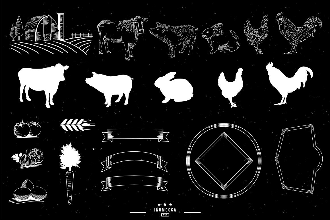10 Farm Vintage (editable text) example image 6