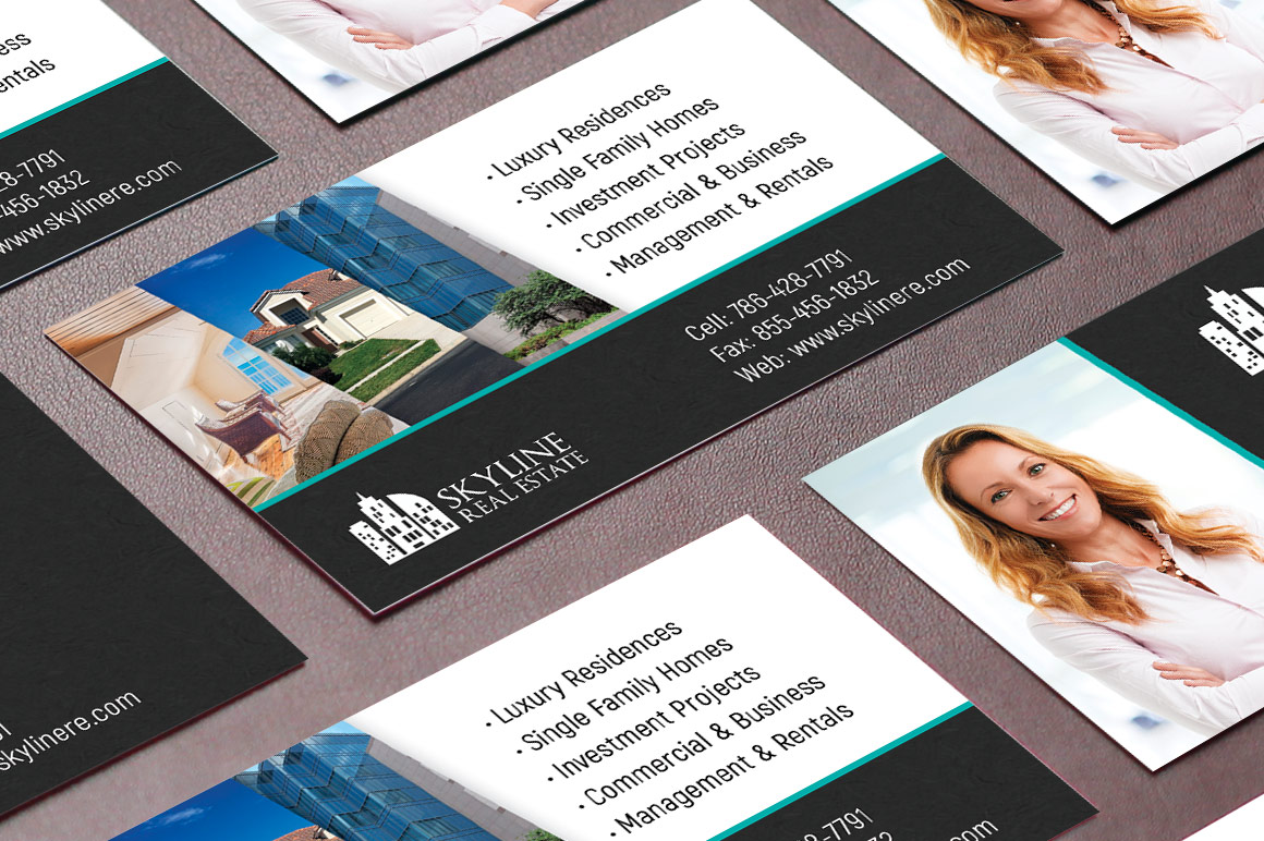 Real Estate Business Card Template example image 4