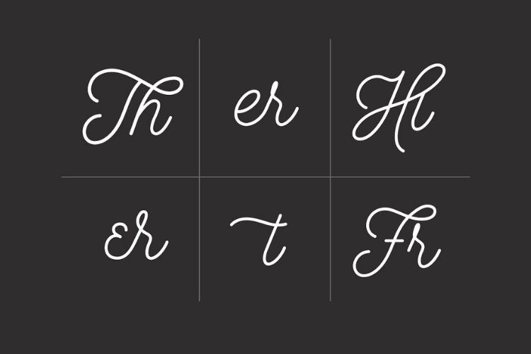 Hustle Script - Monoline example image 7
