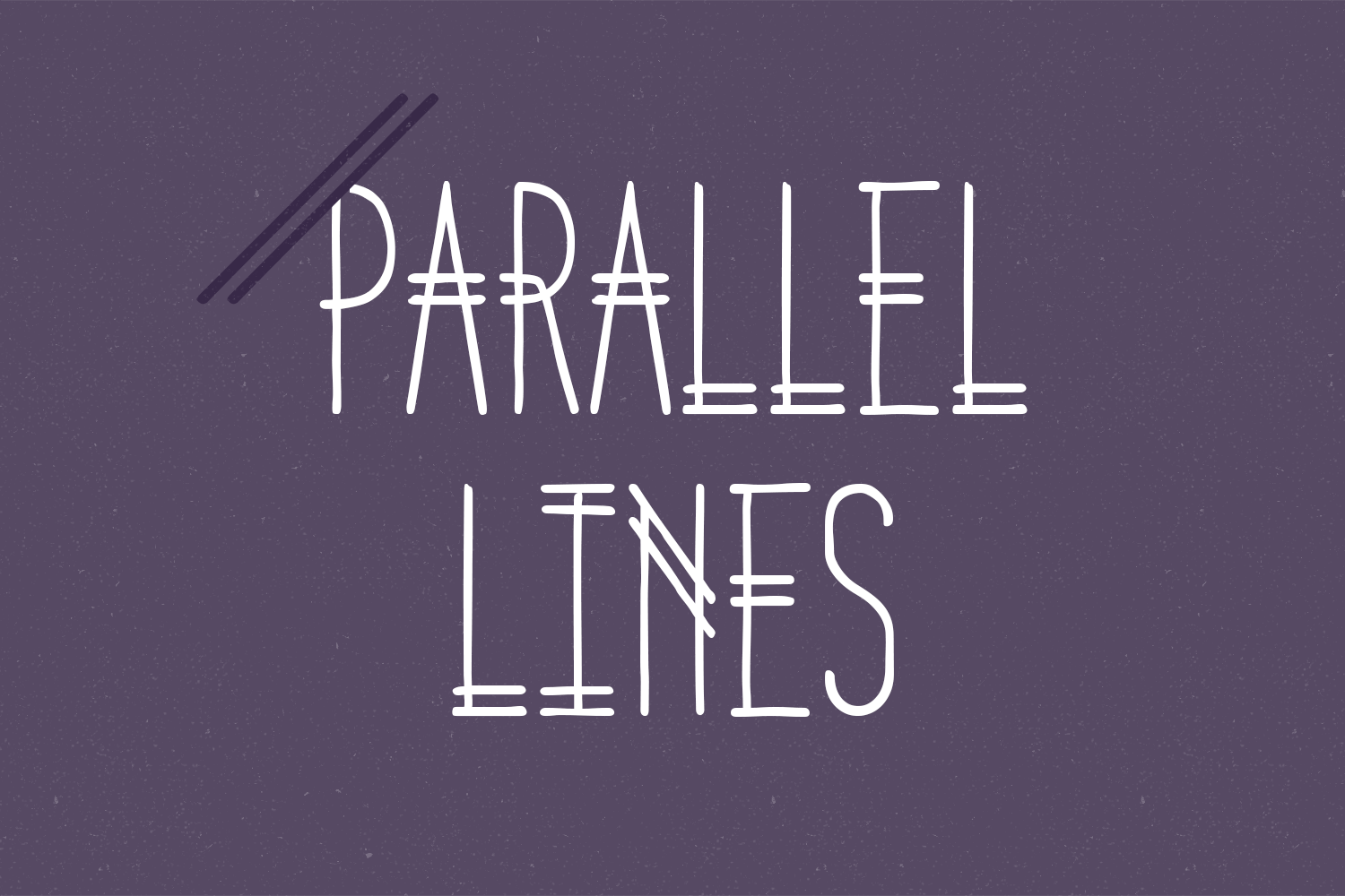 Parallel Lines example image 1