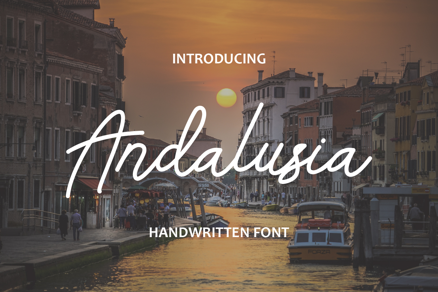 Andalusia -  Handwritten Font example image 1