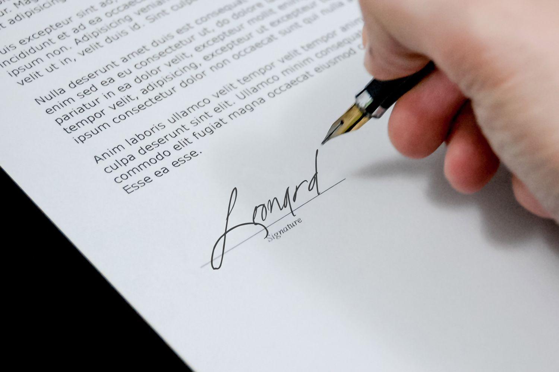 Fascinating Signature example image 5