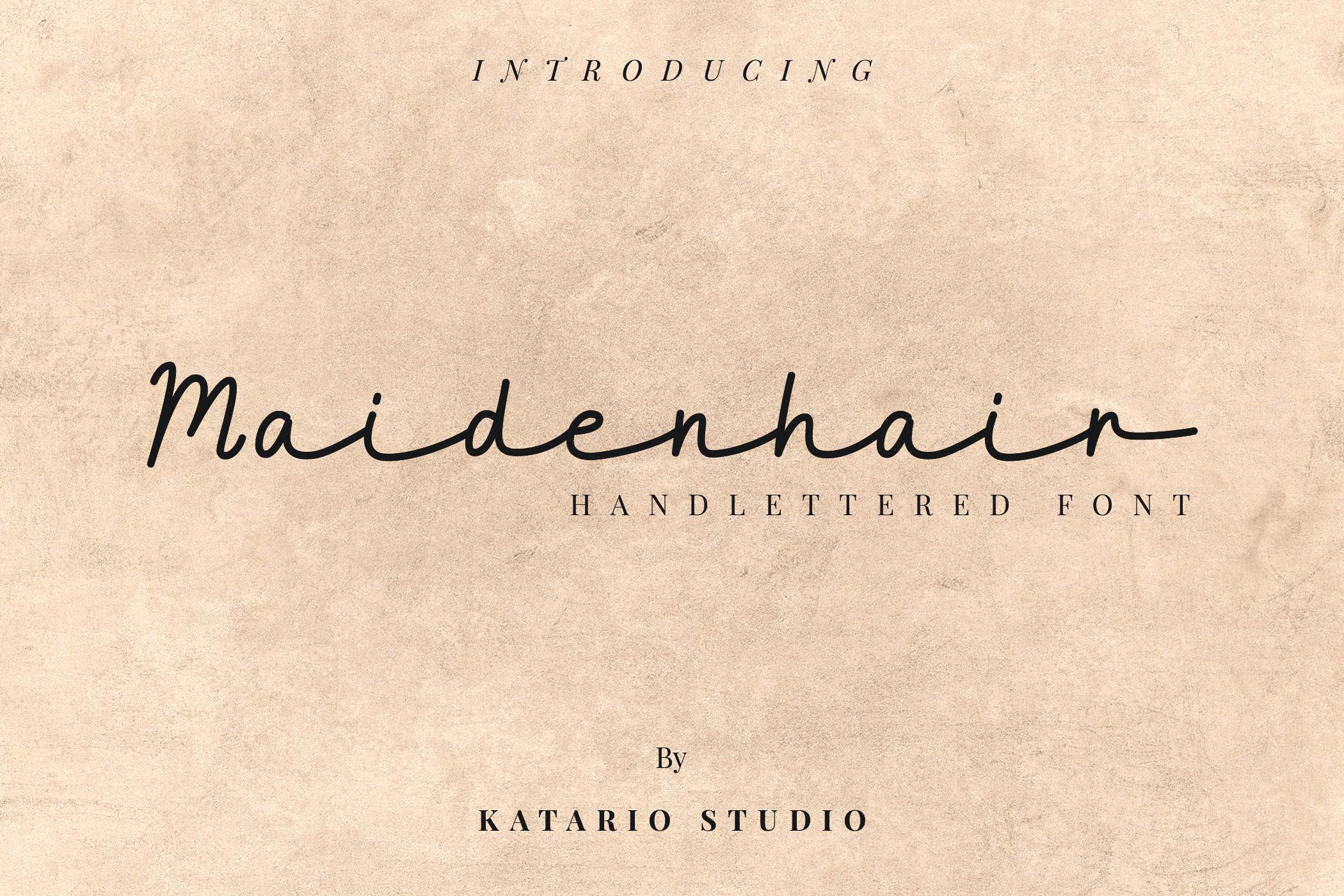 Maidenhair example image 1