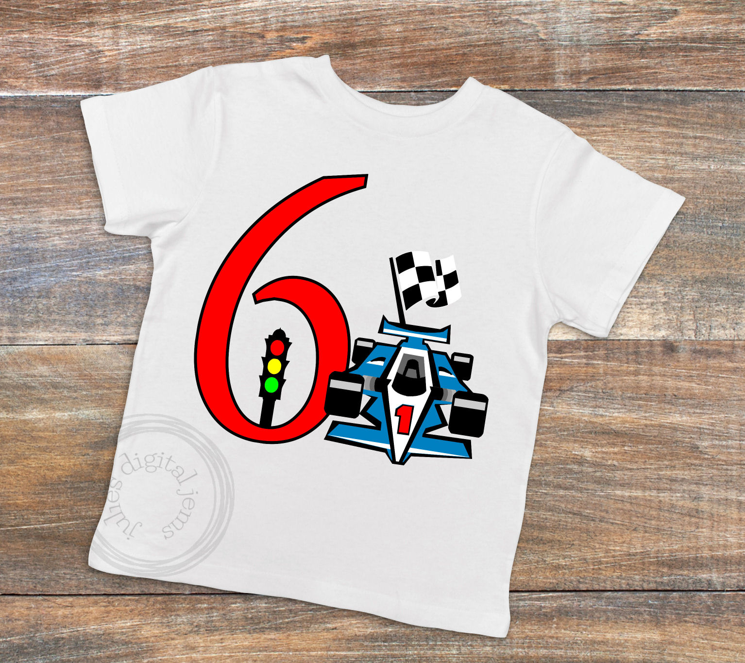 Racing Birthday 6th, by Julies Homemade Jems example image 2