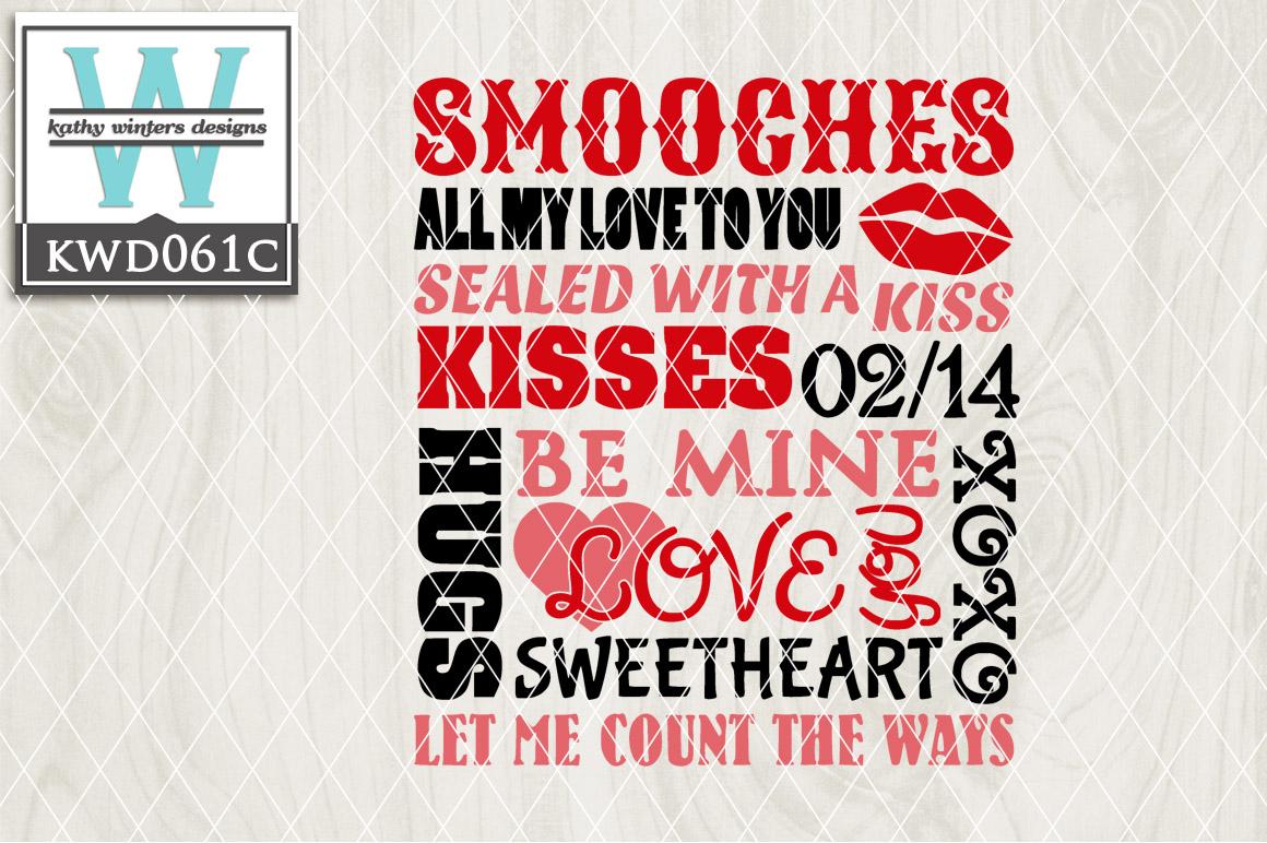 Valentines Cutting File KWD061C example image 1