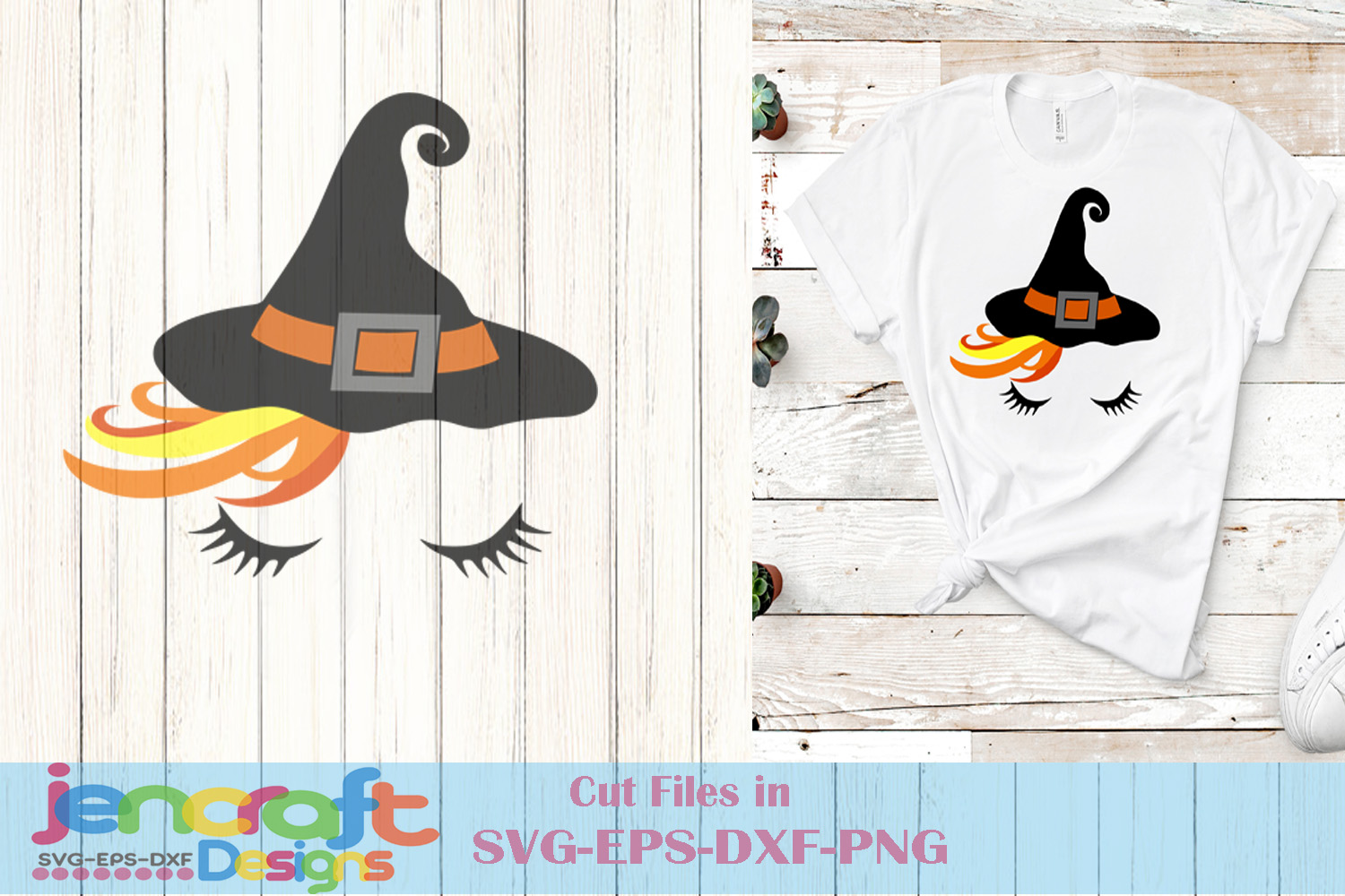 Witch Face Svg - Halloween Face Svg File image down example image 1