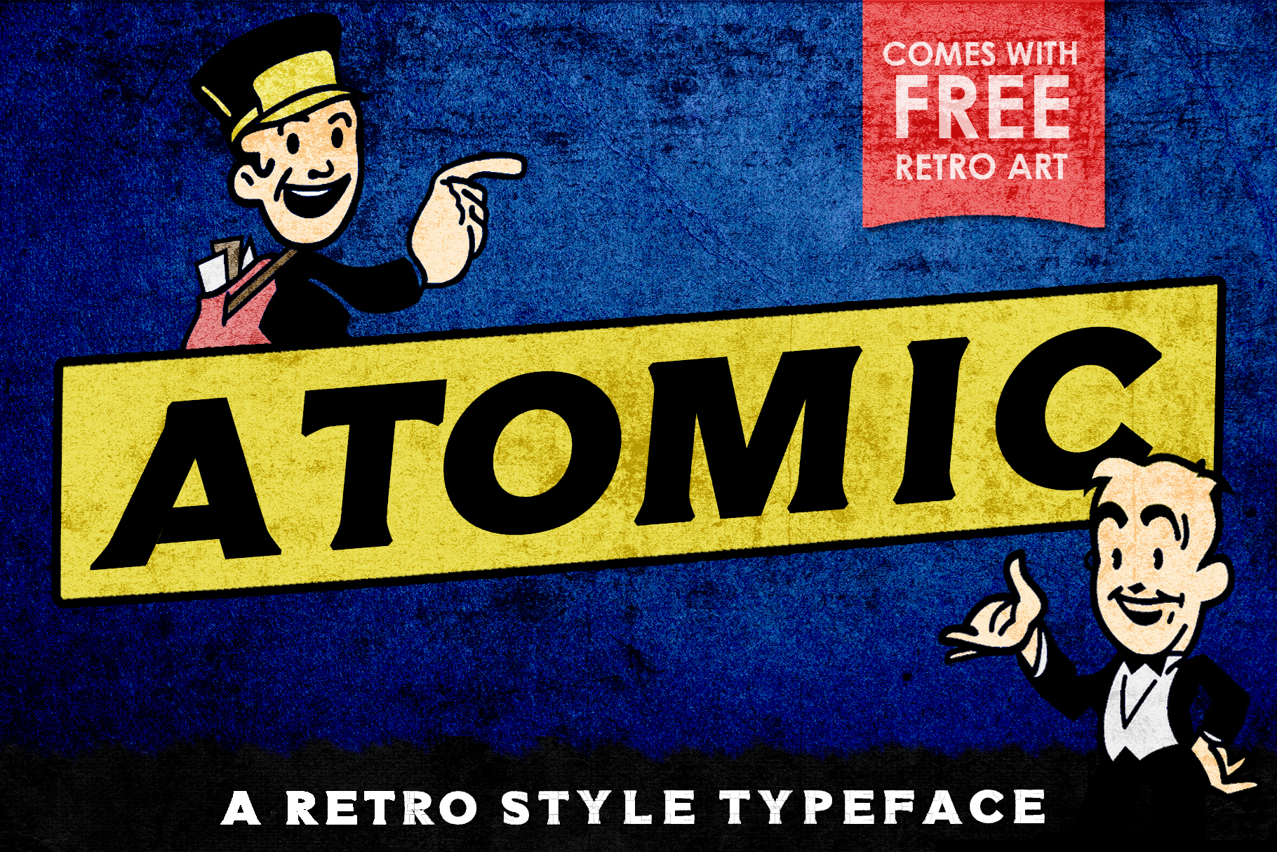 Atomic Typeface example image 1