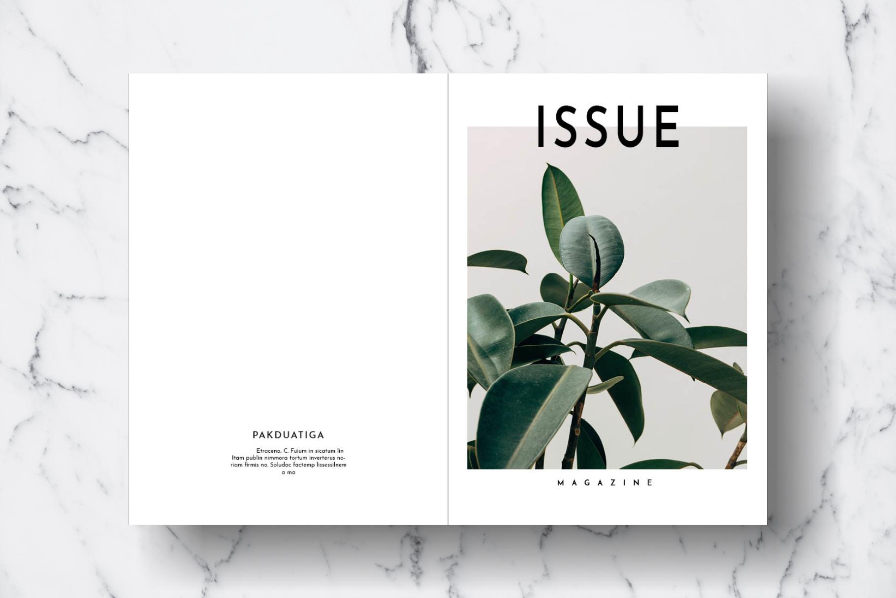 Magazine Template Vol. 17 example image 13