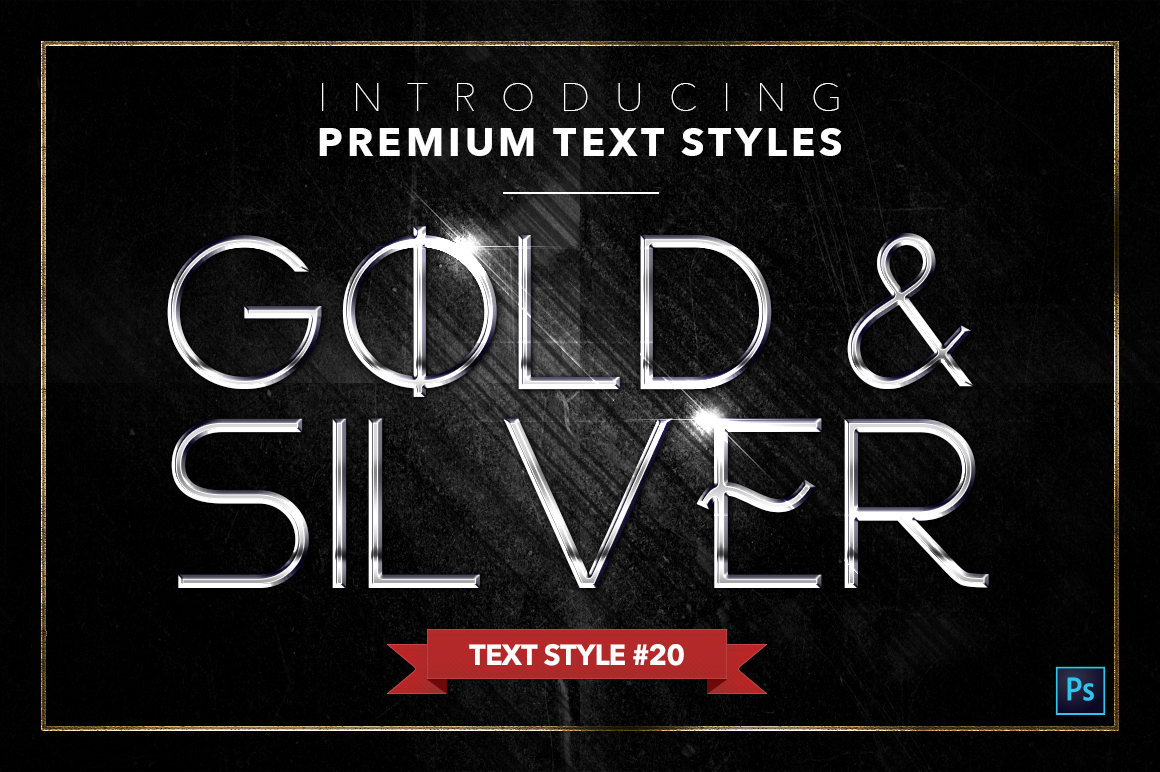 Gold & Silver #4 - 20 Text Styles example image 5