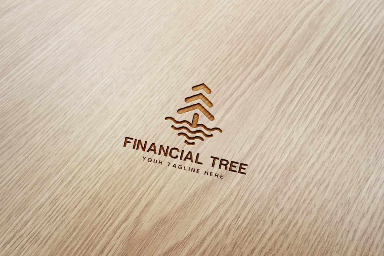 Financial Tree Logo example image 3