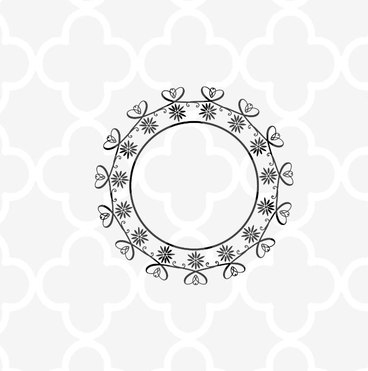 Cross Mandala SVG - Easter Cut files example image 4