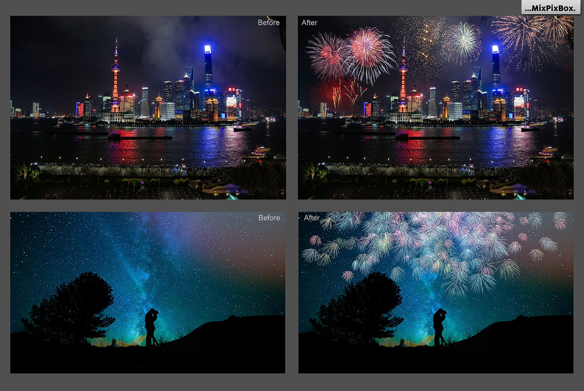 100 Fireworks Overlays example image 4
