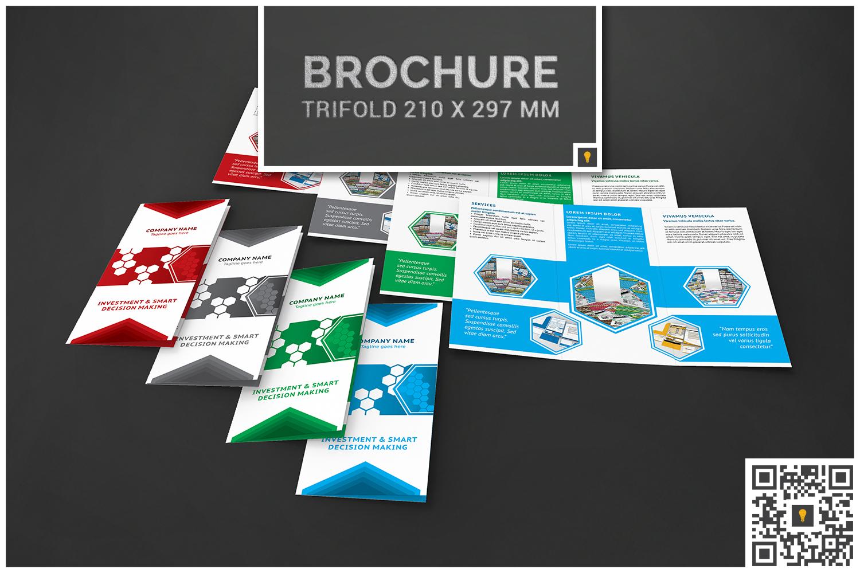 Corporate Hive Print Bundle example image 17
