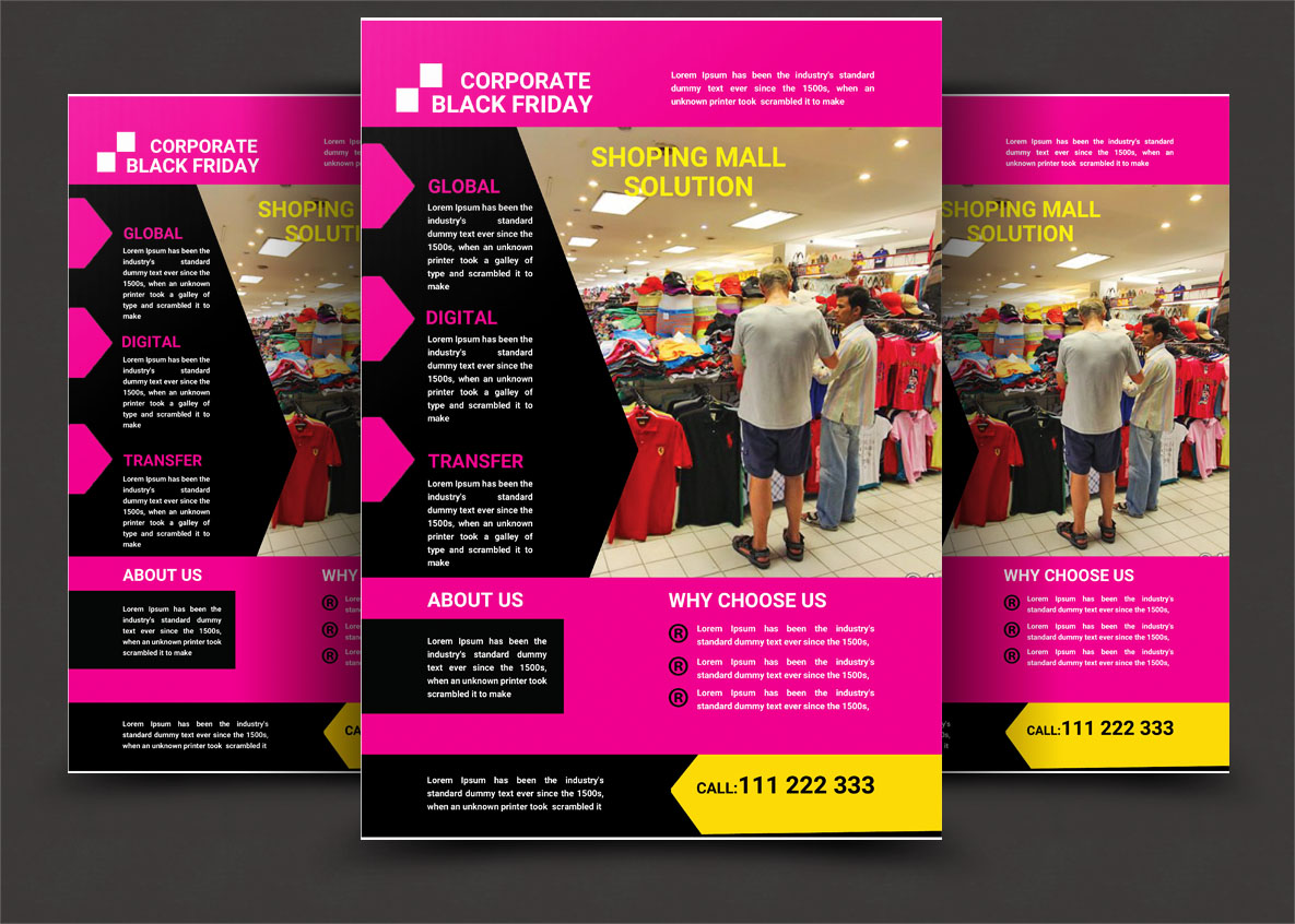 Black Friday Flyer example image 4