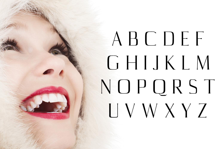 Aaliyah Serif Typeface example image 2