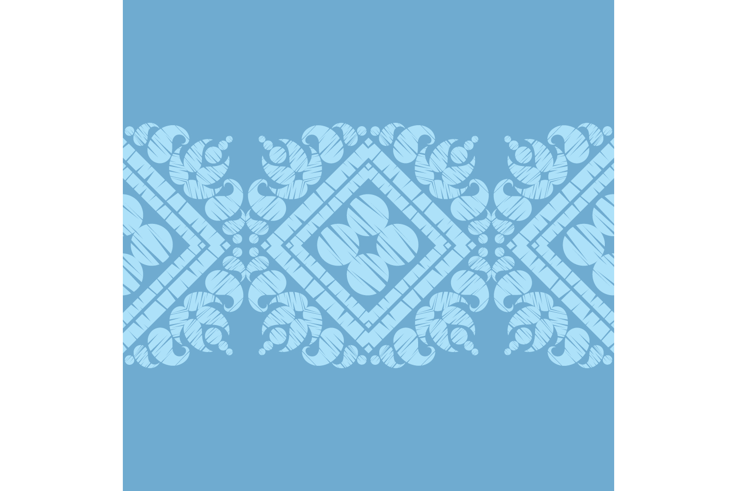 Paisley ornament. Set of 10 seamless patterns. example image 10