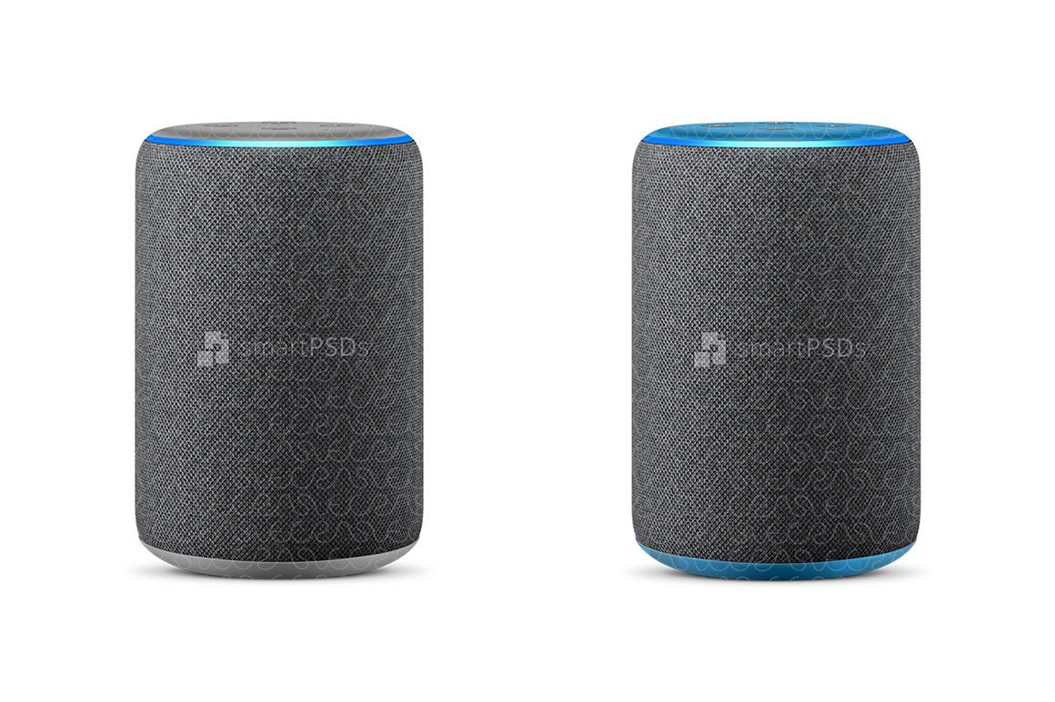 Amazon Echo Plus 2nd Gen Vinyl Skin Design Mockup 2018 example image 2