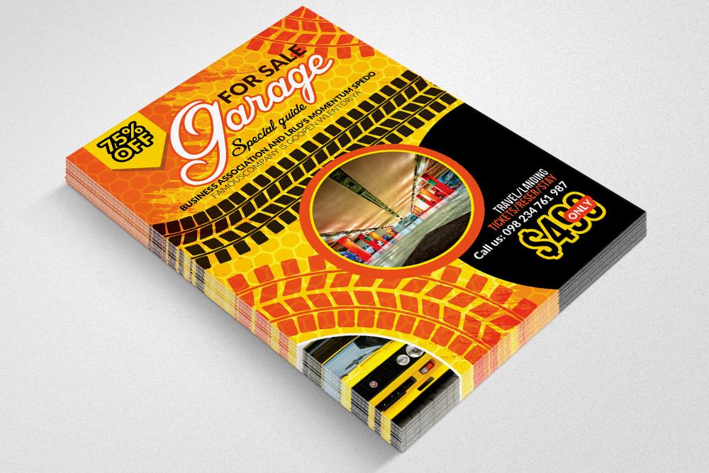 Garage Sale Flyer example image 3