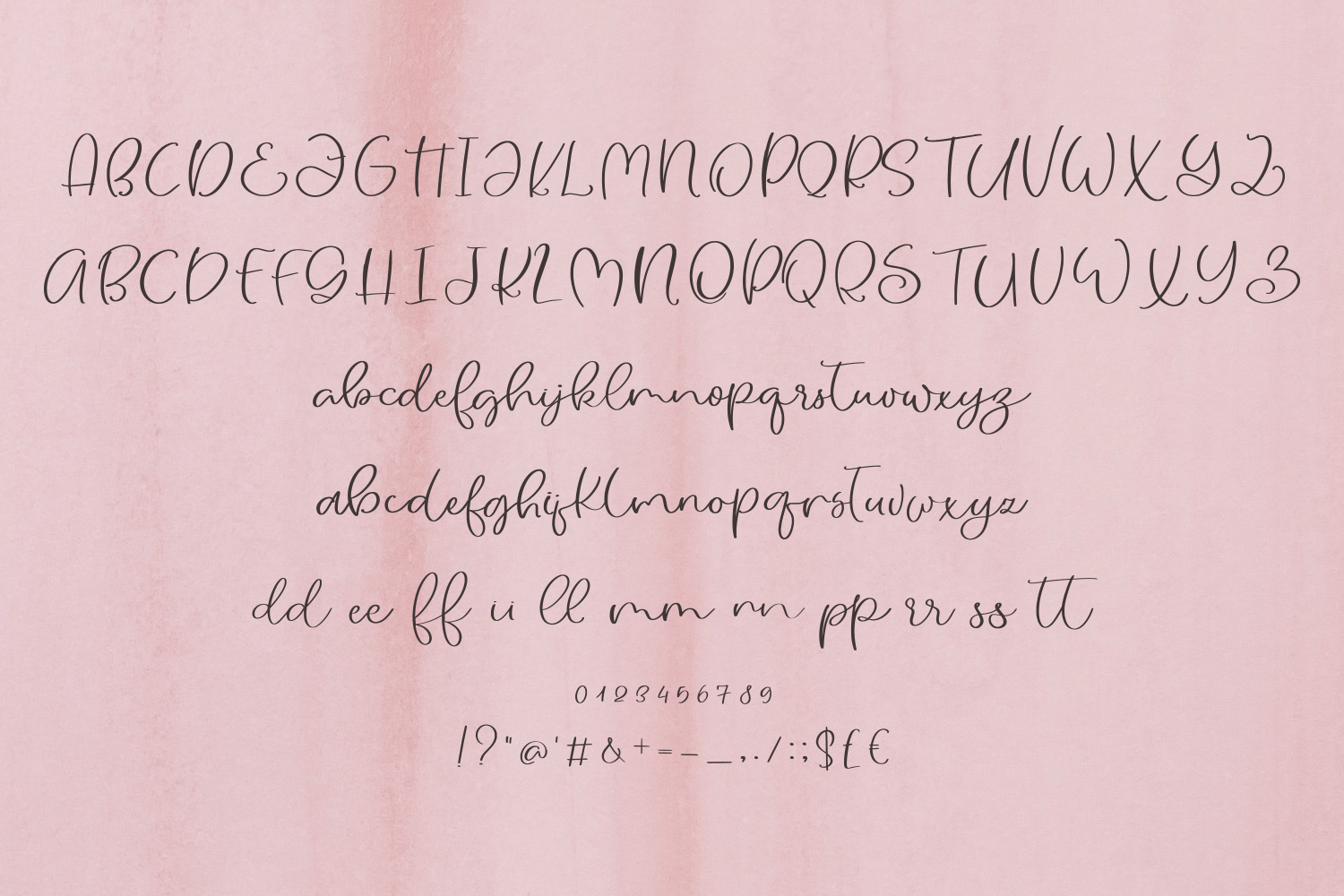 Pinky Beach Font Duo example image 8
