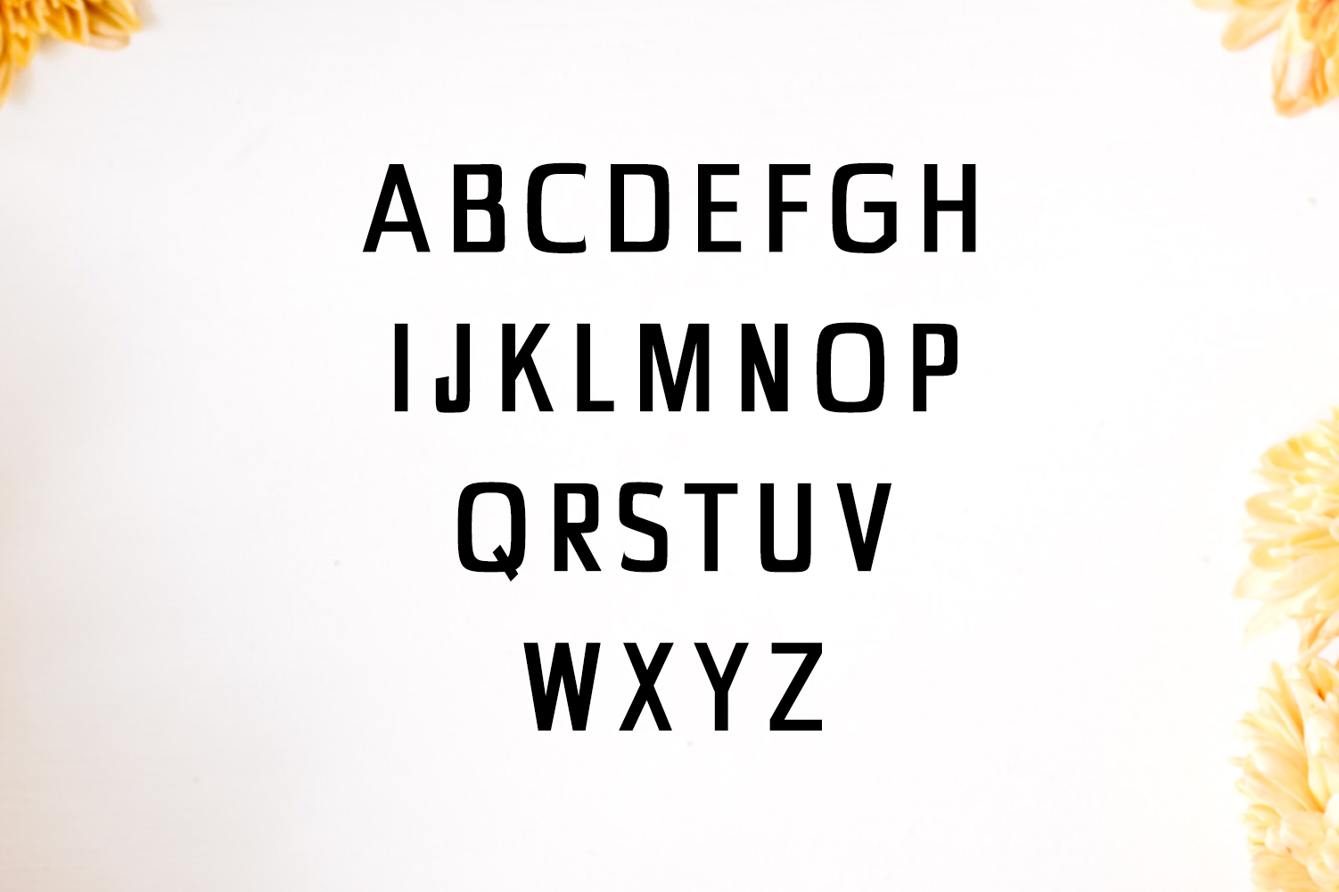 Chrys Sans Serif Typeface example image 2