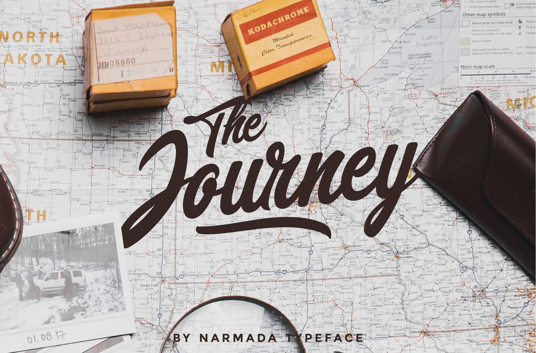 Narmada Typeface example image 6