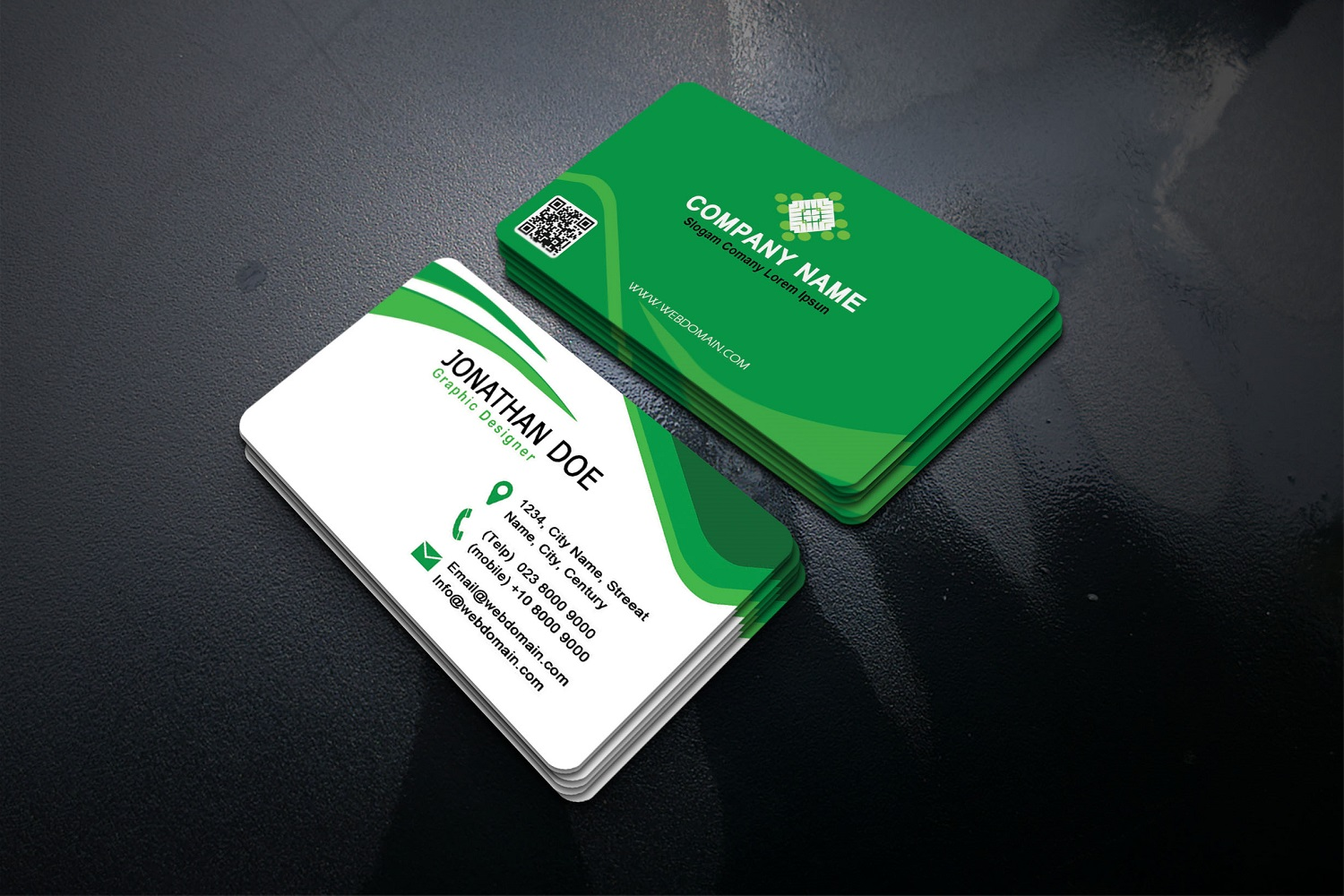 Modern Business Cards example image 4