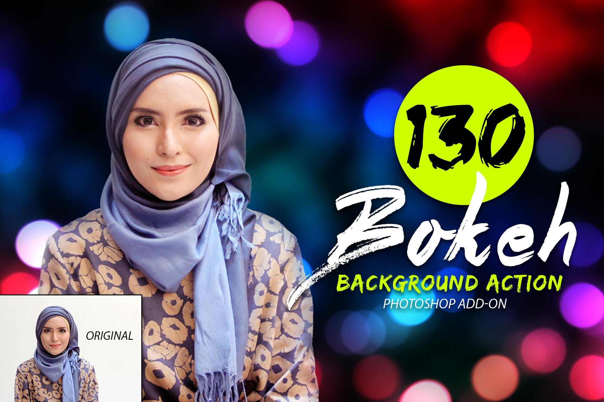 130 Bokeh Photoshop Action example image 3