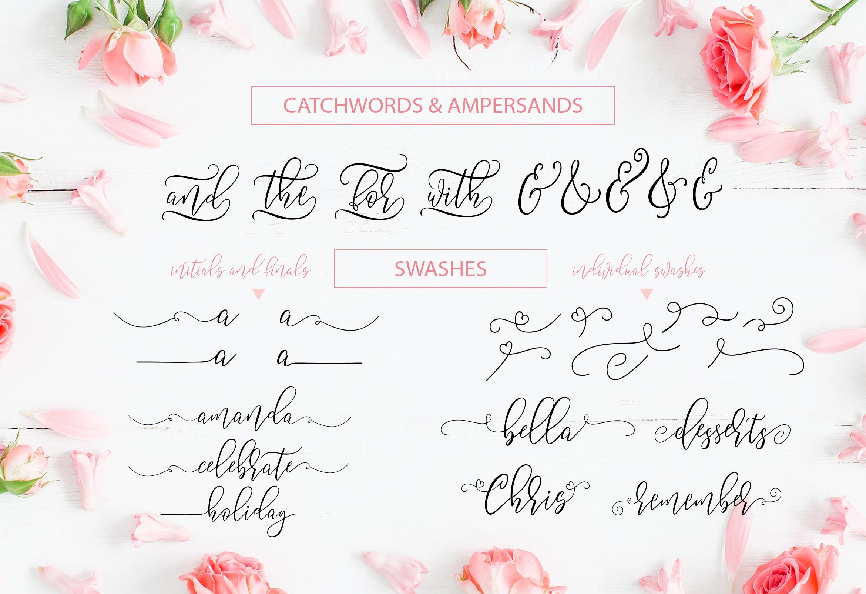 Summery Handwritten Calligraphy Font example image 6