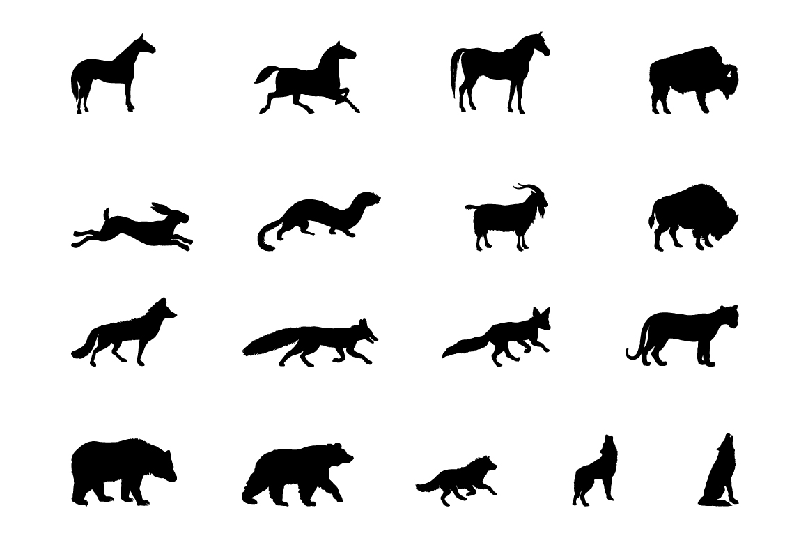 Rustic Animals Clipart - AI PNG EPS example image 5