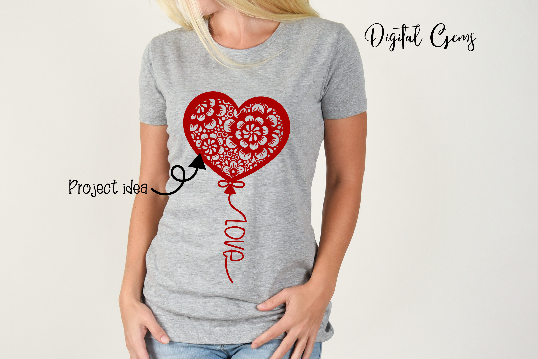 Balloon, Valentines / love design example image 4