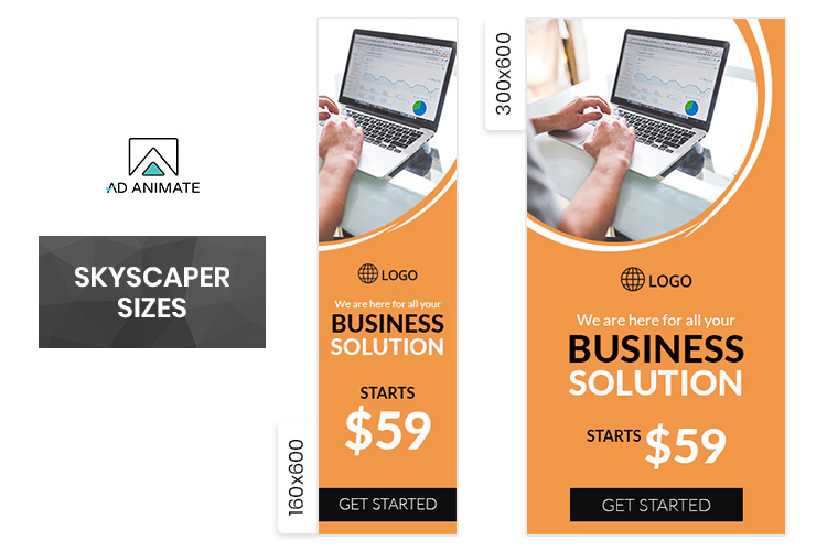 Business Banner Animated Ad Template - BU003 example image 3