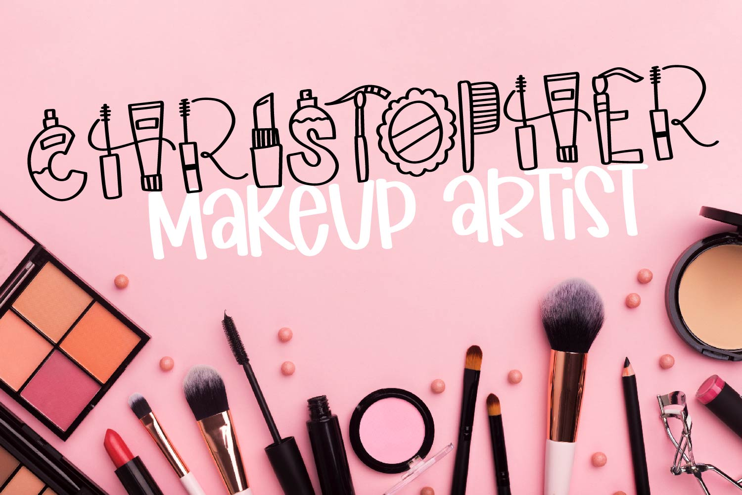 Makeup - A Beauty Supply Font perfect for Make Up Lovers example image 5